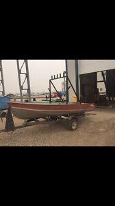 14ft aluminum Lund boat
