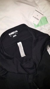 Forever 21 leggings w/ pockets and mesh detail BNWT size large