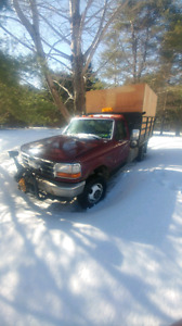 Ford one ton with dump box