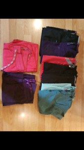 Variety of Scrub Bottoms and Shirts