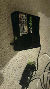 XBOX 360 WITH 10 GAMES AND 2 CONTROLLERS NEED GONE ASAP