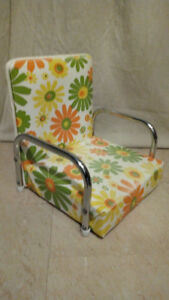 Vintage Retro Childs Booster Seat