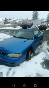1998 MUSTANG CONVERTIBLE (REDUCED PRICE)