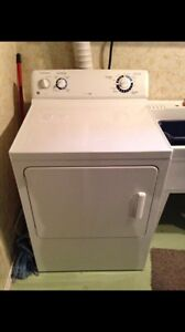 Two year old GE washer and Dryer.