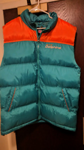 Miami Dolphins Puffy Vest