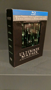 The Matrix Movies - ultimate Collection on BluRay