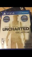 Uncharted collection ps4 50$