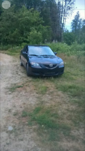 2004 Mazda 3 sedan for parts or repair