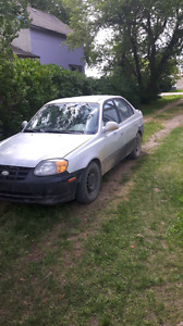 hyundai accent for sale or trade