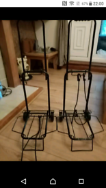 2 camping trolleys new