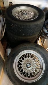 Bridgestone Turanza tires e34 bmw P225/60/R15 95H