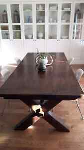 Pottery Barn Tuscana Extending Harvest Table