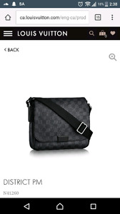 Messenger bag / murse Louis vuitton