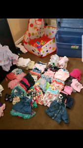 0-3 month girls summer wear