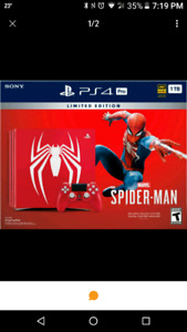 Ps4 brand new unopened looking to trade for switch