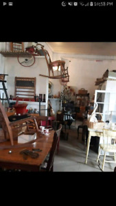 Rooms full of Antiques and unique items for sale at great prices