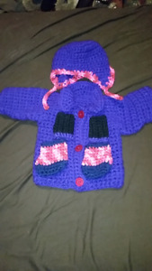 """18 """" Doll outfit homemade"""