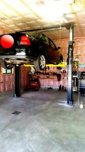 9000lbs 2 poteaux lift pont elevateur machine a pneus Balanceur