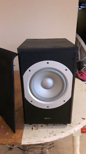 Infinity PS38, 300 W powered subwoofer.