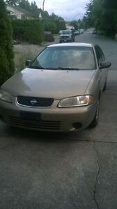 Nissan- Sentra 2002 Automatic 4Cly. 1.8L A/C 198K