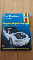 Haynes Repair Manual for Ford Mustang 1994 thru 2004