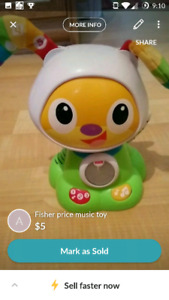 Fisher Price music toy