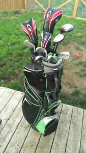 Left Golf Set Top Flite XL Gaucher