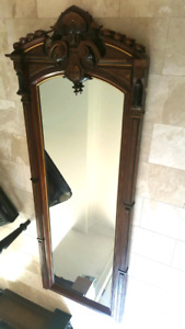 Large 19 Century Antique Mirror