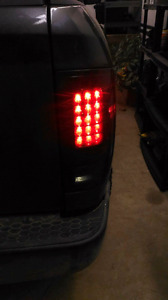 2009 and up dodge ram recon tail lights