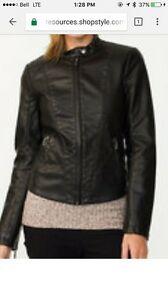 Brand new Leather like Moto Jacket Le Chateau  St. John's Newfoundland image 3