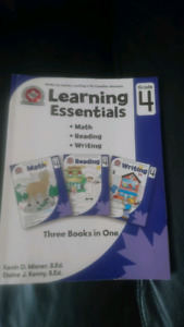 Learning Essentials mathematical books plus Harry Potter book