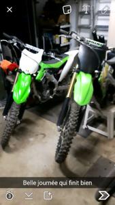 Kx 250 2014 neuf seulement 8h