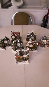 Collectable clock houses