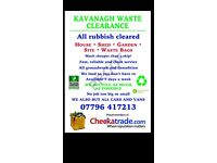 Rubbish clearance waste removed London Surrey house cleared