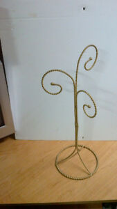 8 Ornament Stands - all together as a lot for $10.00