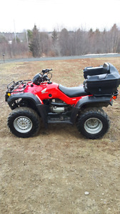 Looking to trade my 4 Wheeler for a car