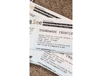 SOUNDWAVE FESTIVAL 2017 TICKETS - PHYSICAL - £80