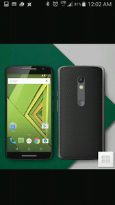 Koodo or Telus moto x play..as new