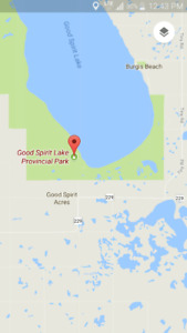Cabin for rent at Good Spirit Lake on July Long Weekend 2018