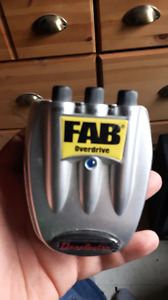 Fab over drive pedal