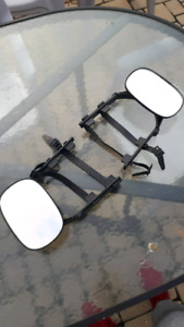 Attachable towing mirrors