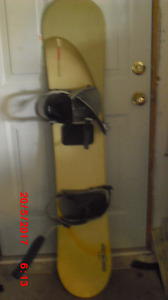 "Snowboard limited brand,  58"" model 148"