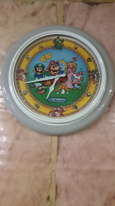 Huge Nintendo Mario Bros Clock