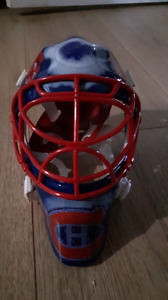 2001/2002 UD Mask Collection Jose Theodore Canadians Mini-Helmet