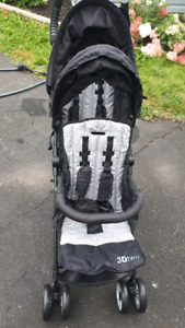 New double stroller