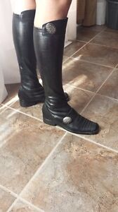 Leather boots size 7 Kingston Kingston Area image 3