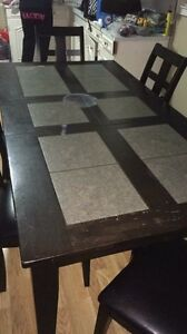 Large kitchen table 6 chairs