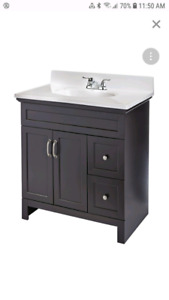 4 piece Espresso Vanity see other ads