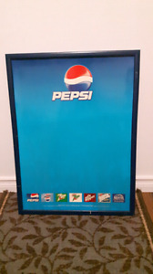 Pepsi Advertising Sign