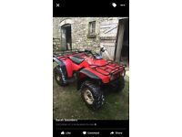 Honda farm quad 2wd